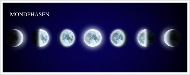 Kartenlegen Mit Dem Mondzyklus Mondphasen Vollmond